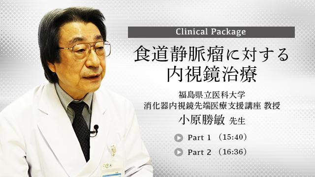 食道静脈瘤に対する内視鏡治療